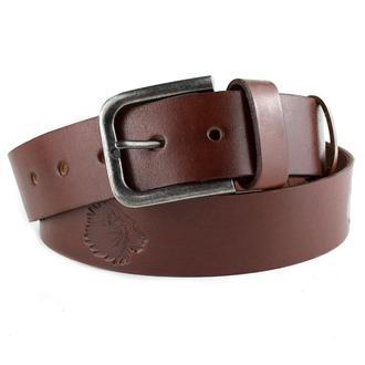 Мужской кожаный ремень L-02 (коричневый)
