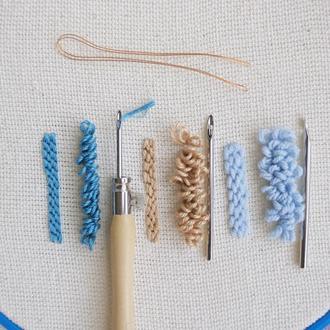 Игла для ковровой вышивки Lavor / португальская игла Лавор