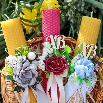 Пасхальна свічка Свічка на Великдень