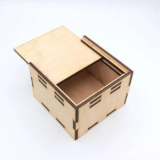 Подарункова коробка з висувним відкриттям (100*100*70)