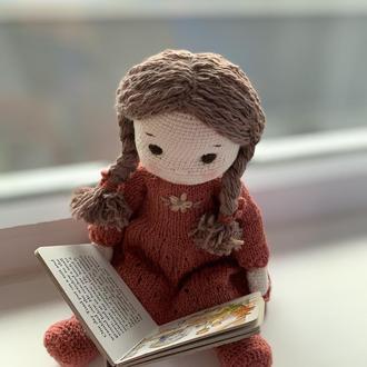 Игровая кукла  в одежде  в стиле Вальдорфская кукла