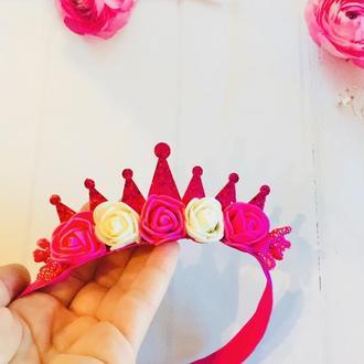 Малинова корона для принцеси