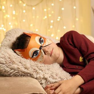 маска для сну Лисичка