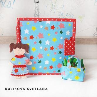 Фетровий книжка Ляльковий будиночок