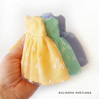 Набор платьев  для куклы  17 см