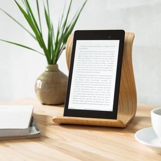 Деревянная подставка для планшета Tablet Stand •Sign• Ash White