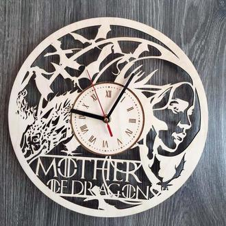 Оригинальные настенные часы «Mother of Dragons»