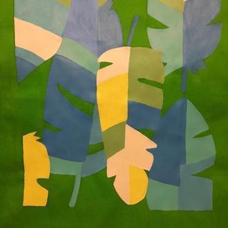 "Еко-сумка "" Пальмове листя """