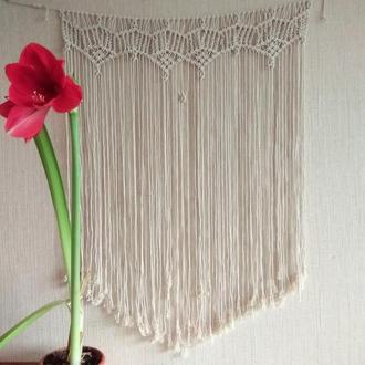Макраме панно баннер фон свадьба