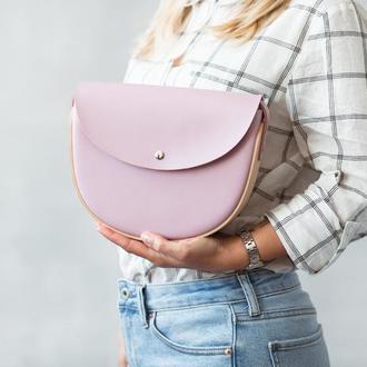 REA Pink SP - сумка из натуральной кожи и дерева