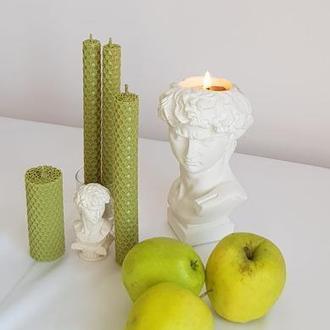 Декоративные свечи из вощины