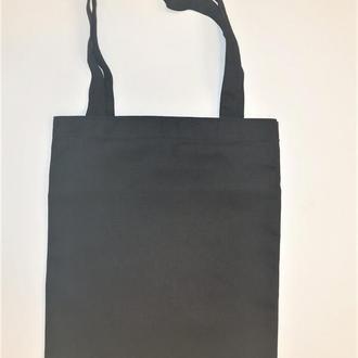 Эко сумка шоппер черная