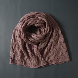 Вязаный шарф Purlsoho