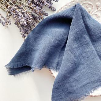 САЛФЕТКА хлопковая, цвет ТЕМНО-СИНИЙ (navy-blue)