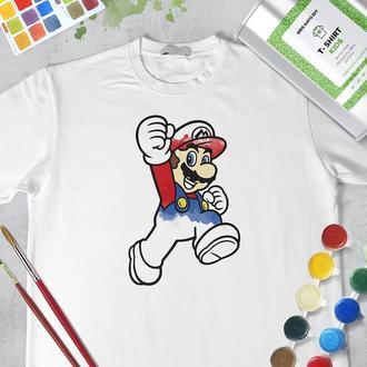 "Набір футболка-розмальовка ""Маріо"""