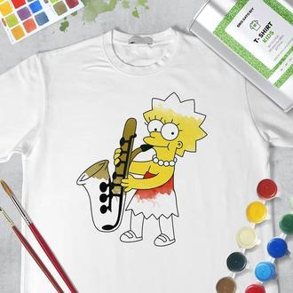 """Набор футболка-раскраска """"Лиза Симпсон"""""""
