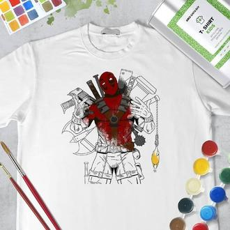 "Набір футболка-розмальовка ""Дедпул"""