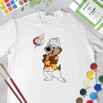 """Набор футболка-раскраска """"Дейл"""""""