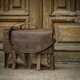 Мужская деловая сумка, Портфель под ноутбук