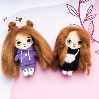 Лялька-брошка