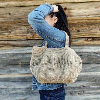 Сумка шопер Еко сумка Торба Солом'яна сумка