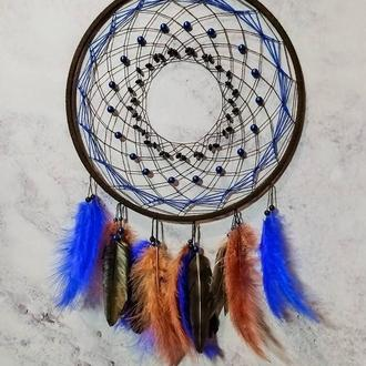 """Ловец снов """"блики заката"""".  Декор для дома. Подарок. Амулет"""