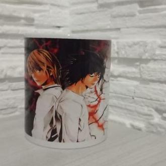 Чашка з аніме малюнком