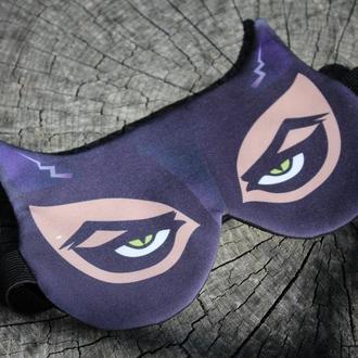 Маска для сна Женщина Кошка