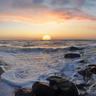 Азовское море. Восход