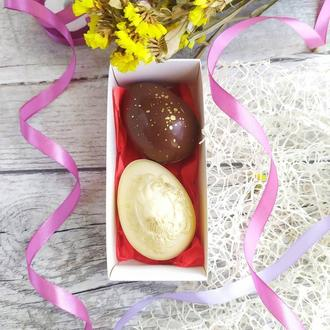 Какао-бомбы из яиц, Пасхальные яйца