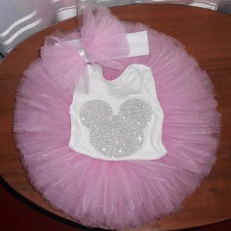 Комплект для дівчинки ( юбка пачка та  боді/футболка)