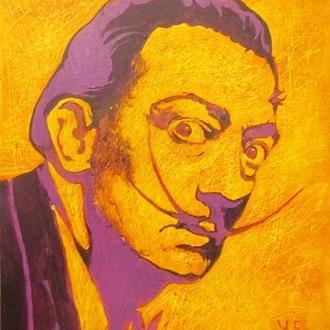 Портрет Сальвадора Дали