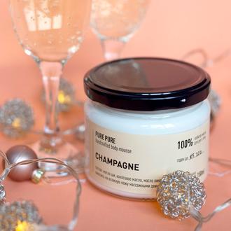 Мусс для тела с ароматом шампанского