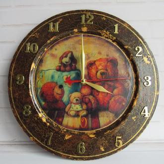 Детские настенные часы