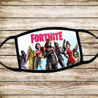 Детская многоразовая маска Форнайт Fornite