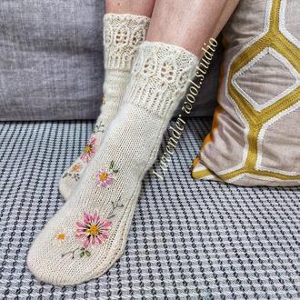 Шерстяные носки, подарок на день матери