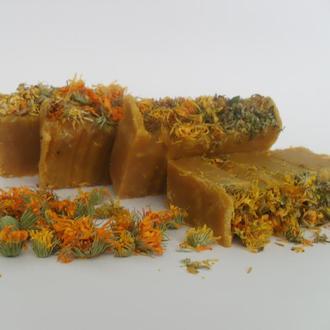 """Натуральное мыло с нуля ,,Медовые травы"""" с медом , прополисом и пчелиным воском"""