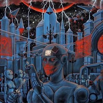 Картина роботи майбутнє космос фантастика хоррор кіберпанк