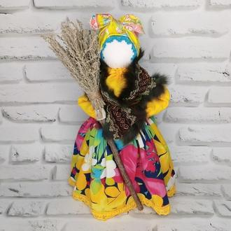 Кукла-мотанка оберег Метлушка, оберег дома