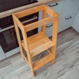 Ступенька-подставка деревянная, детская
