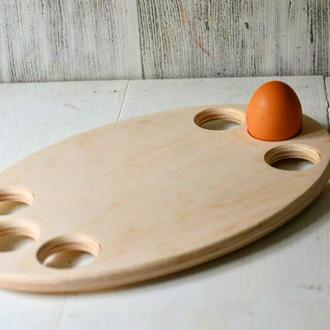Посхальная подставка под яйца,овал