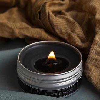 Свічка BLACK DRAGON з перламутром