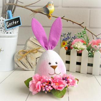 Заяц-яйцо, пасхальный декор, пасхальный кролик