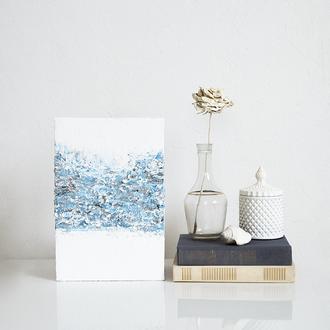 Интерьерная картина, океан, современное искусство, живопись, абстракция, подарок, декор