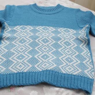 свитера для детей вязаные