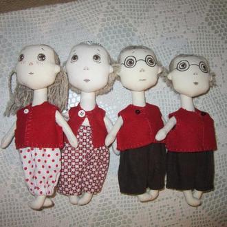 Куколки в стиле Прованс.