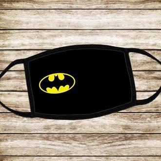 Детская многоразовая  маска Бэтмен