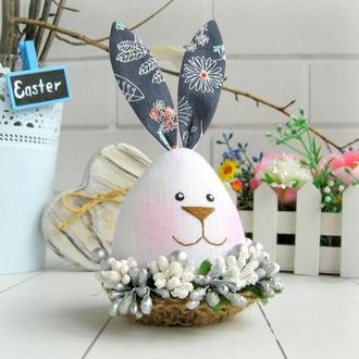 Пасхальный декор, заяц-яйцо, пасхальный кролик