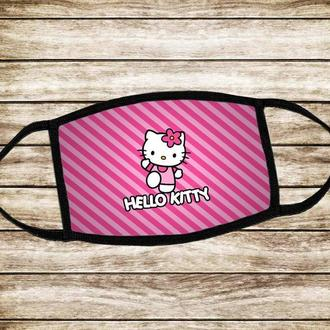 Дитяча багаторазова  маска Хелоу Кітті Hello Kitty
