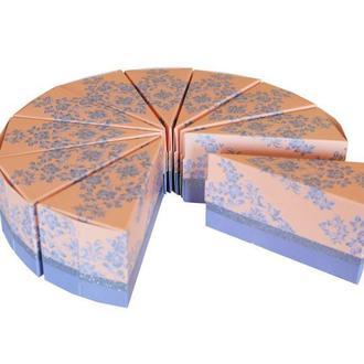 Бонбоньерки в форме торта (арт. B-90)